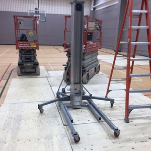 Heavy Equipment Gym Floor Protection